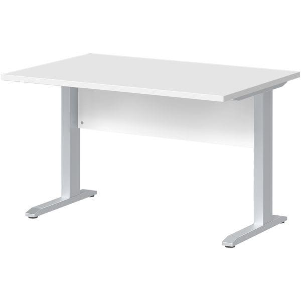 Schreibtisch »Planeo« 120 cm C-Fuß bei Office Discount - Bürobedarf