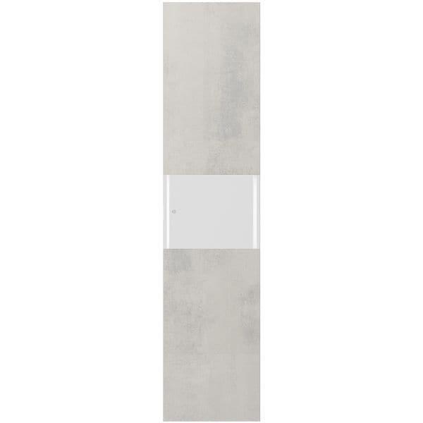 Tür 45 cm / 5OH mit Klarglasfüllung für »BRW Express« bei Office Discount - Bürobedarf
