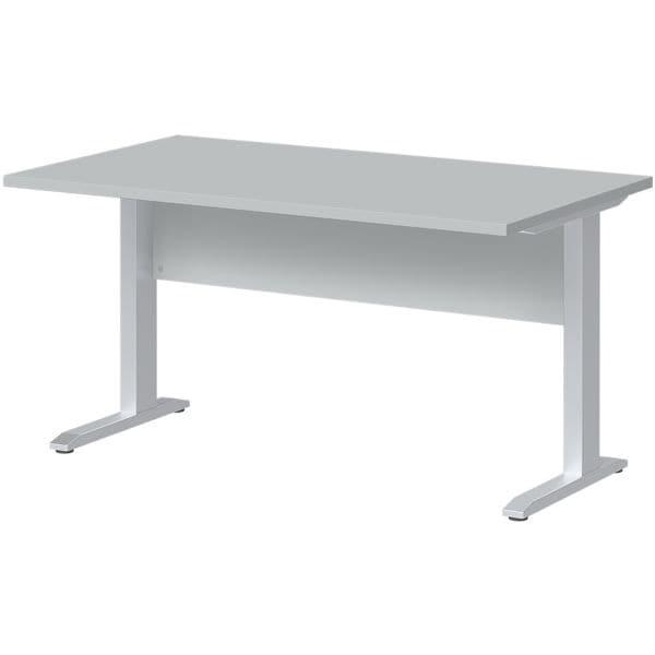 Schreibtisch »Planeo« 140 cm C-Fuß bei Office Discount - Bürobedarf