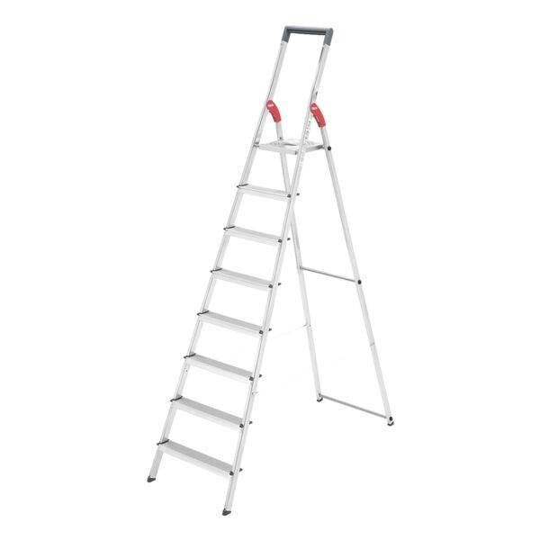 Sicherheits-Stufenstehleiter »ProfiLine S 150« | Baumarkt > Leitern und Treppen > Stehleiter | Stahl | Hailo