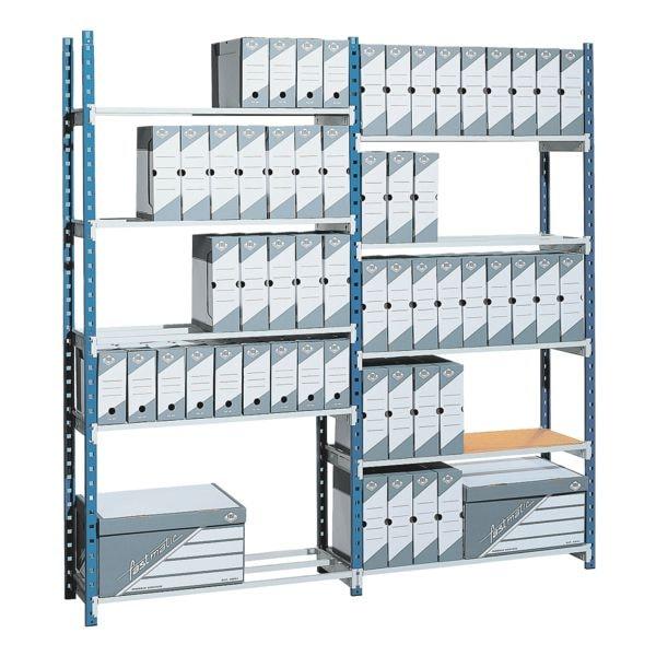 Steckregalsystem »Rang'Eco« Anbauregal 6 Böden | Büro > Büroregale > Regalsysteme | Stahl | Paperflow