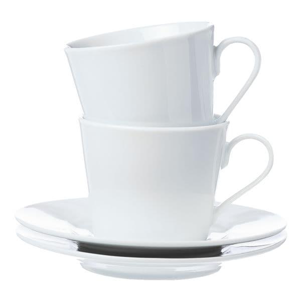 4-teiliges Kaffeetassen-Set »Bianco« bei Office Discount - Bürobedarf