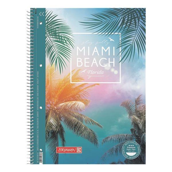 Collegeblock »Miami Beach« A4 kariert bei Office Discount - Bürobedarf
