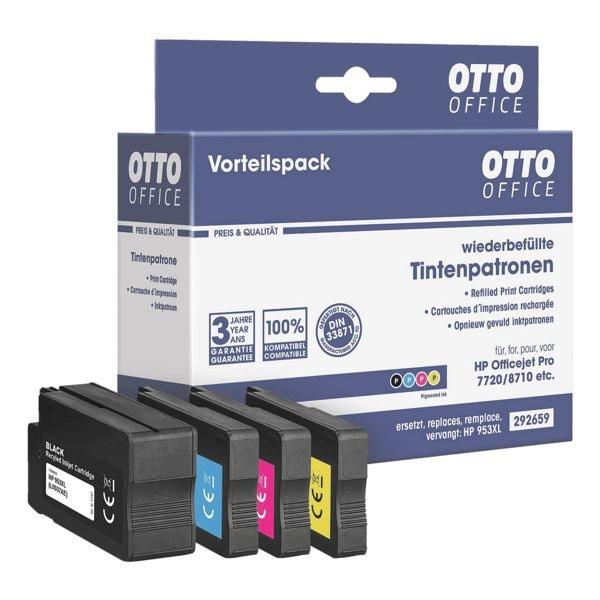Tintenpatronen-Set ersetzt HP »L0S70AE, F6U16AE, F6U17AE, F6U18A bei Office Discount - Bürobedarf
