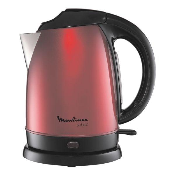 Wasserkocher »BY5305 Subito« | Küche und Esszimmer > Küchengeräte > Wasserkocher | Metallic | Moulinex