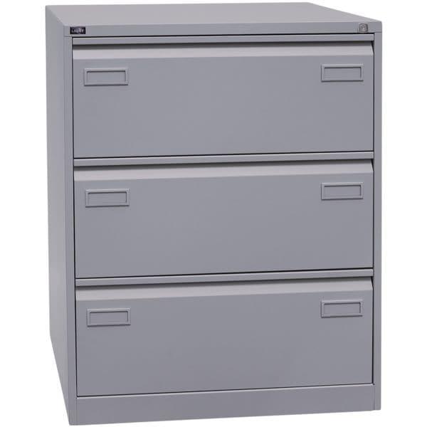 Hängeregistraturschrank »Light« A4, zweibahnig, 3 Schübe | Büro > Büroschränke > Hängeregistraturschränke | Bisley Light