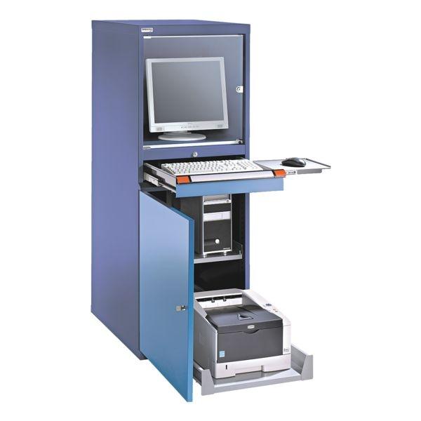 Computerschrank mit Ventilator | Büro > Büroschränke > Computerschränke | THURMETALL