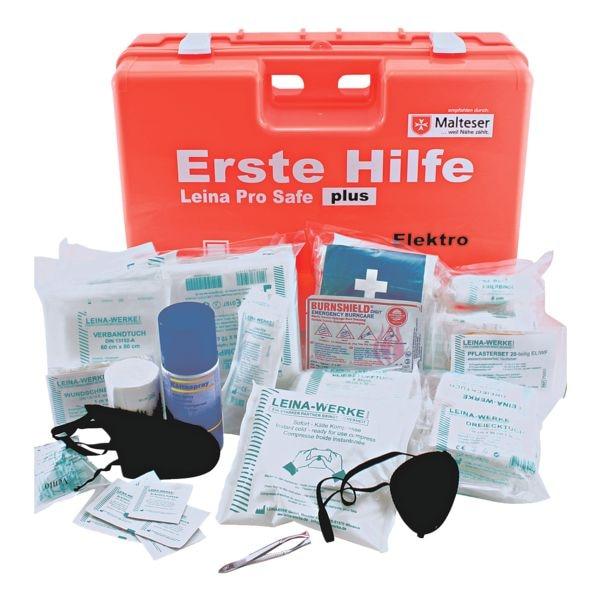 Elektro Erste-Hilfe-Koffer »Pro Safe Plus« | Bad > Badmöbel > Medizinschränke | LEINA-WERKE