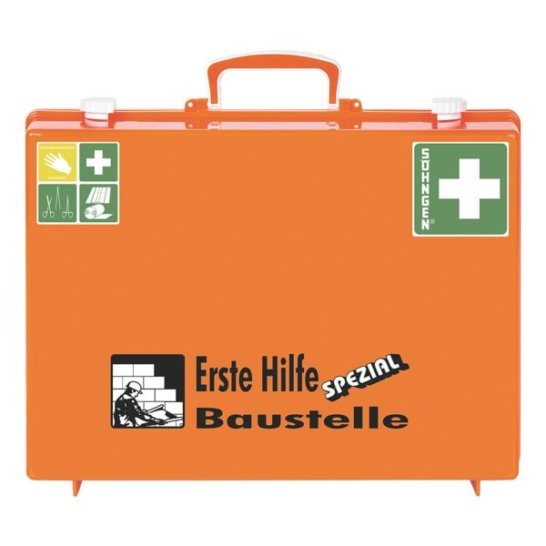 Erste-Hilfe-Koffer »SPEZIAL MT-CD Baustelle« | Bad > Badmöbel > Medizinschränke | SÖHNGEN