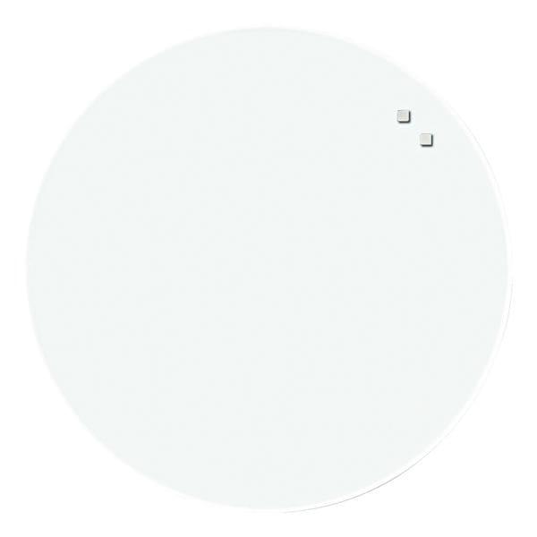 Glas-Whiteboard-Magnetboard| Kreis Ø 45 cm | Büro > Tafeln und Boards > Hängetafeln | NAGA