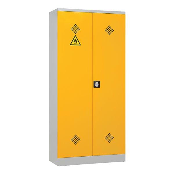 Gefahrstoffschrank mit Flügeltüren 92 x 195 cm | Schlafzimmer > Kleiderschränke > Ordnungssysteme | Gürkan