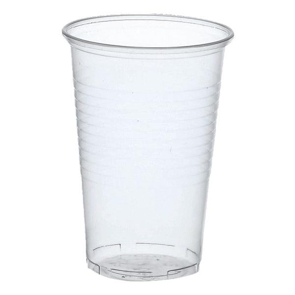 Einweg-Trinkbecher 0,2L transparent