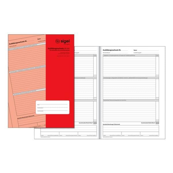 Formularvordrucke »Ausbildungsnachweis« AW484