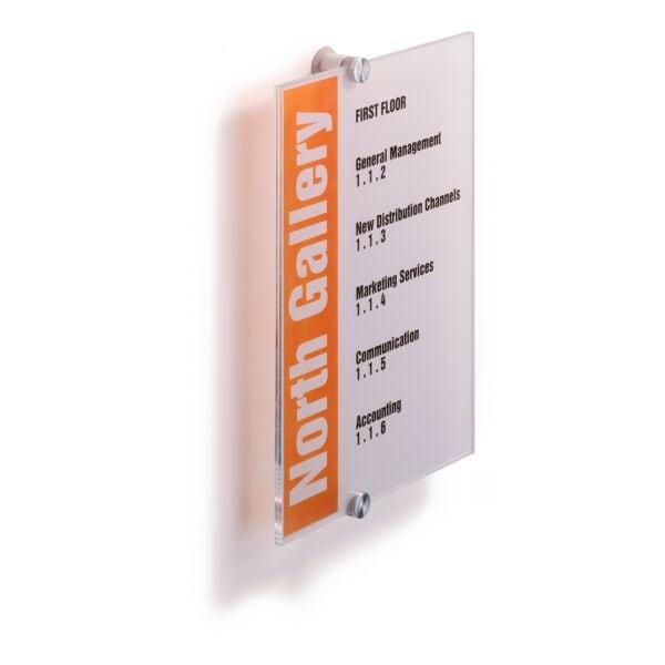 Türschild »Crystal Sign« bei Office Discount - Bürobedarf