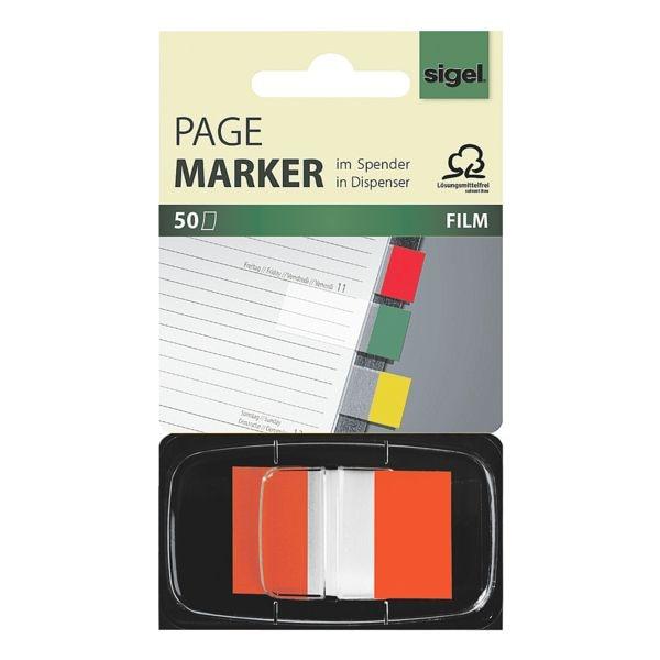 Haftmarker »Z-Marker« 45 x 25 mm, orange bei Office Discount - Bürobedarf