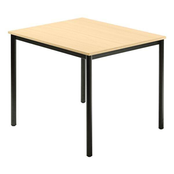 Konferenztisch »Barcelona« 80x80 cm Gestell schwarz | Büro > Bürotische > Konferenztische | HAMMERBACHER