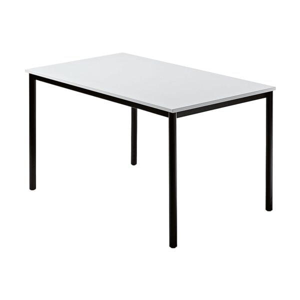 Konferenztisch »Barcelona« 120x80 cm Rechteckform Gestell schwarz | Büro > Bürotische > Konferenztische | HAMMERBACHER