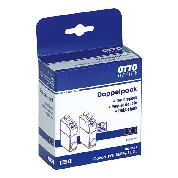 Doppelpack Tintenpatrone ersetzt Canon »PGI-550 PGBK XL« bei Office Discount - Bürobedarf