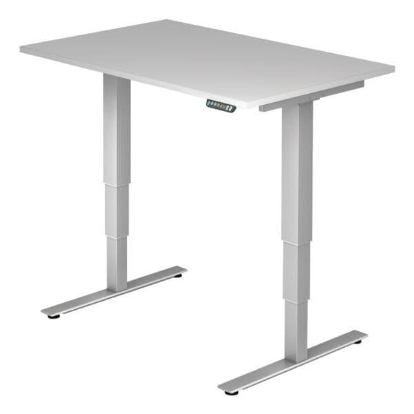 Schreibtisch »Ergonomic« 120 cm breit und elektrisch höhenverstellbar bis 127 cm